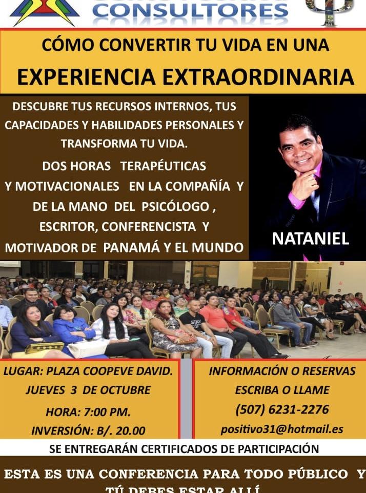 Conferencia Como Convertir Tu Vida En Una Experiencia
